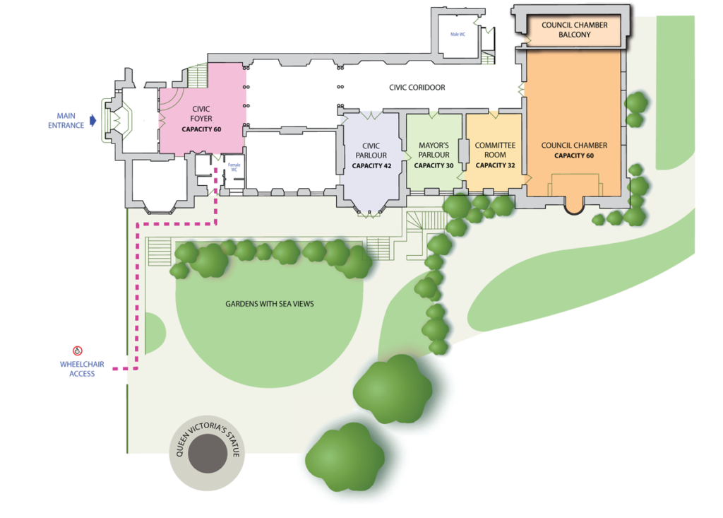 Plan of the Town Hall